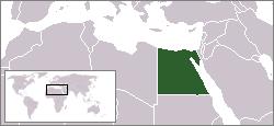 Lokasi Mesir