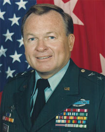 English: Maj. Gen. Paul E. Vallely