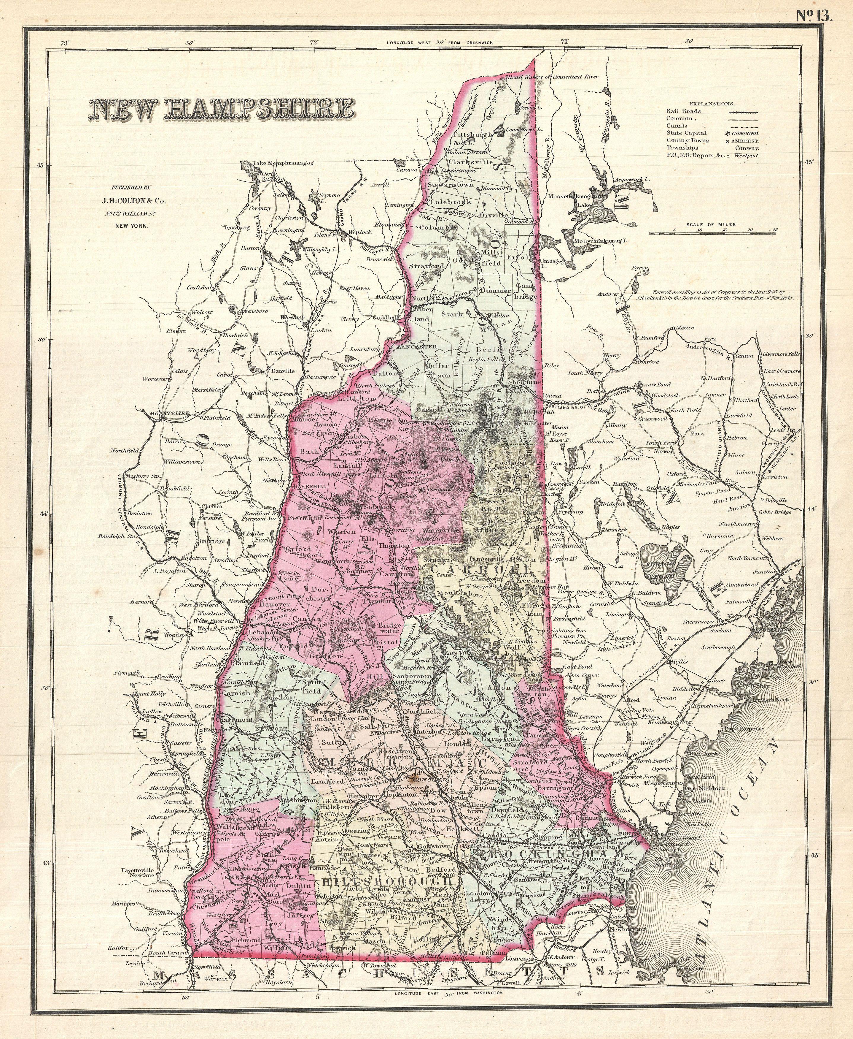 File Colton Map Of New Hampshire