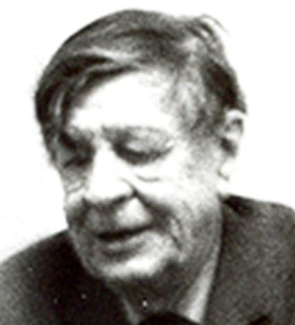 English: Photo of W. H. Auden, 1970, taken by me.