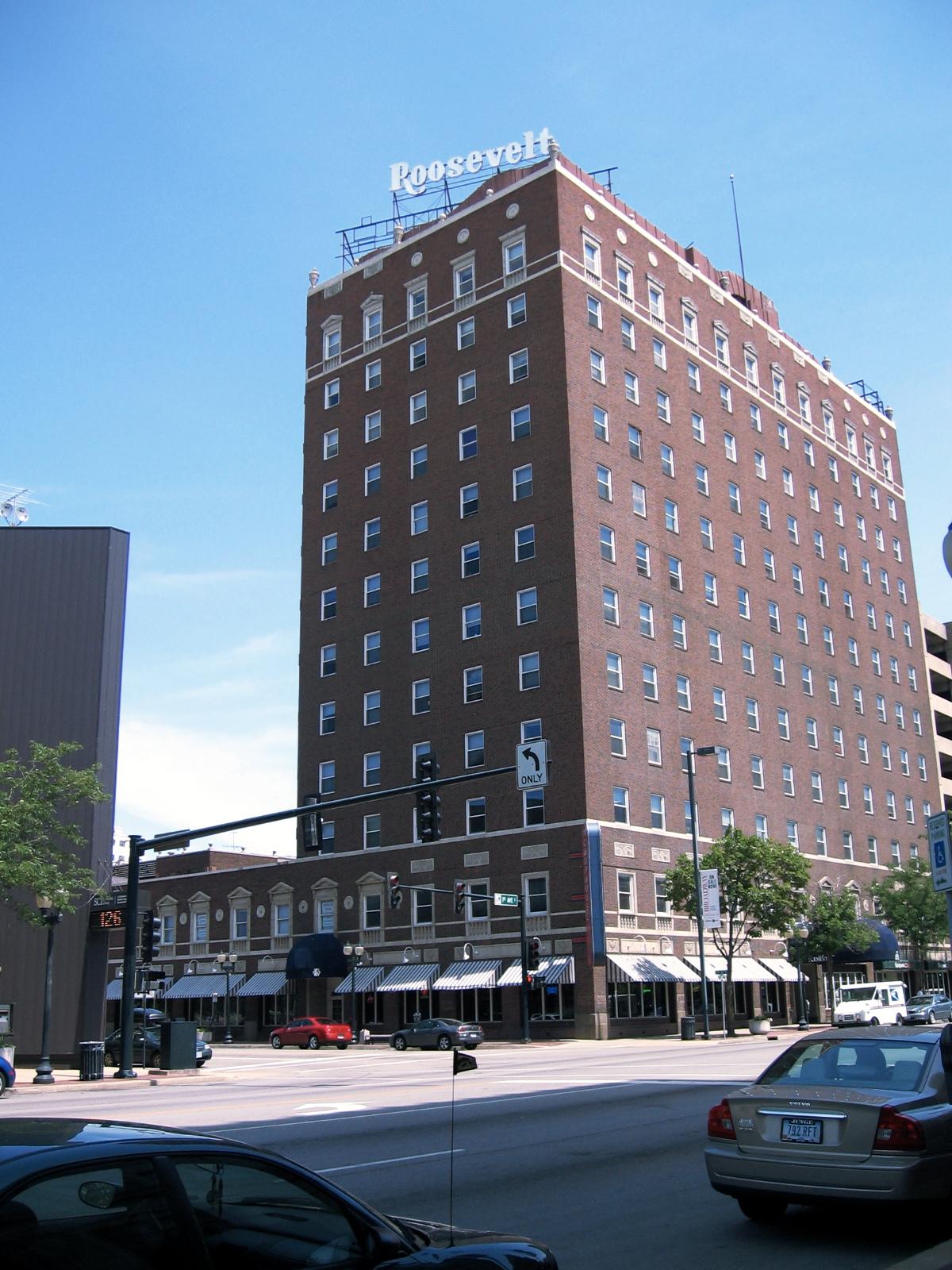 Hotel Roosevelt Cedar Rapids Iowa Wikipedia