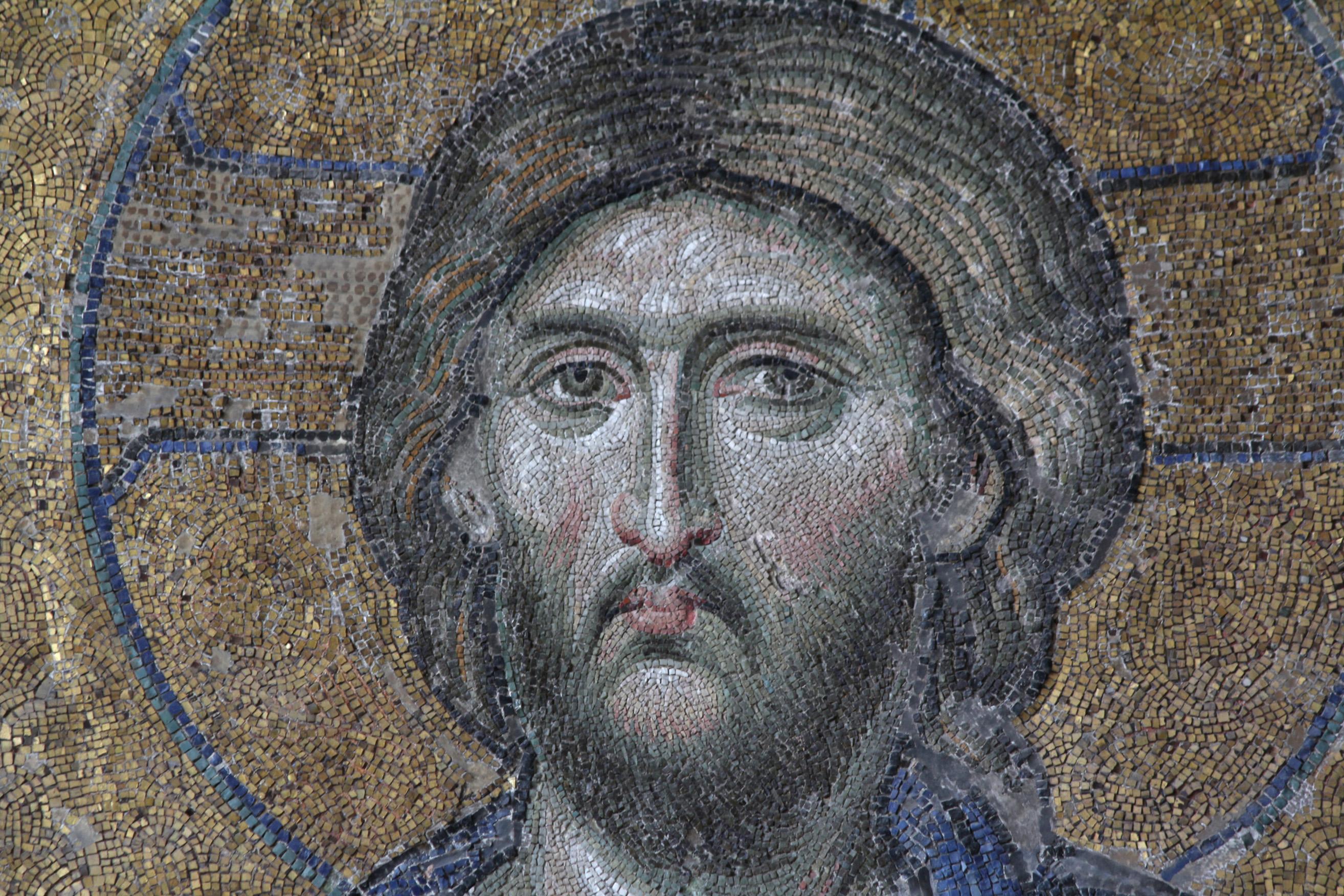 File Deesis Mosaic Hagia Sophia Christ