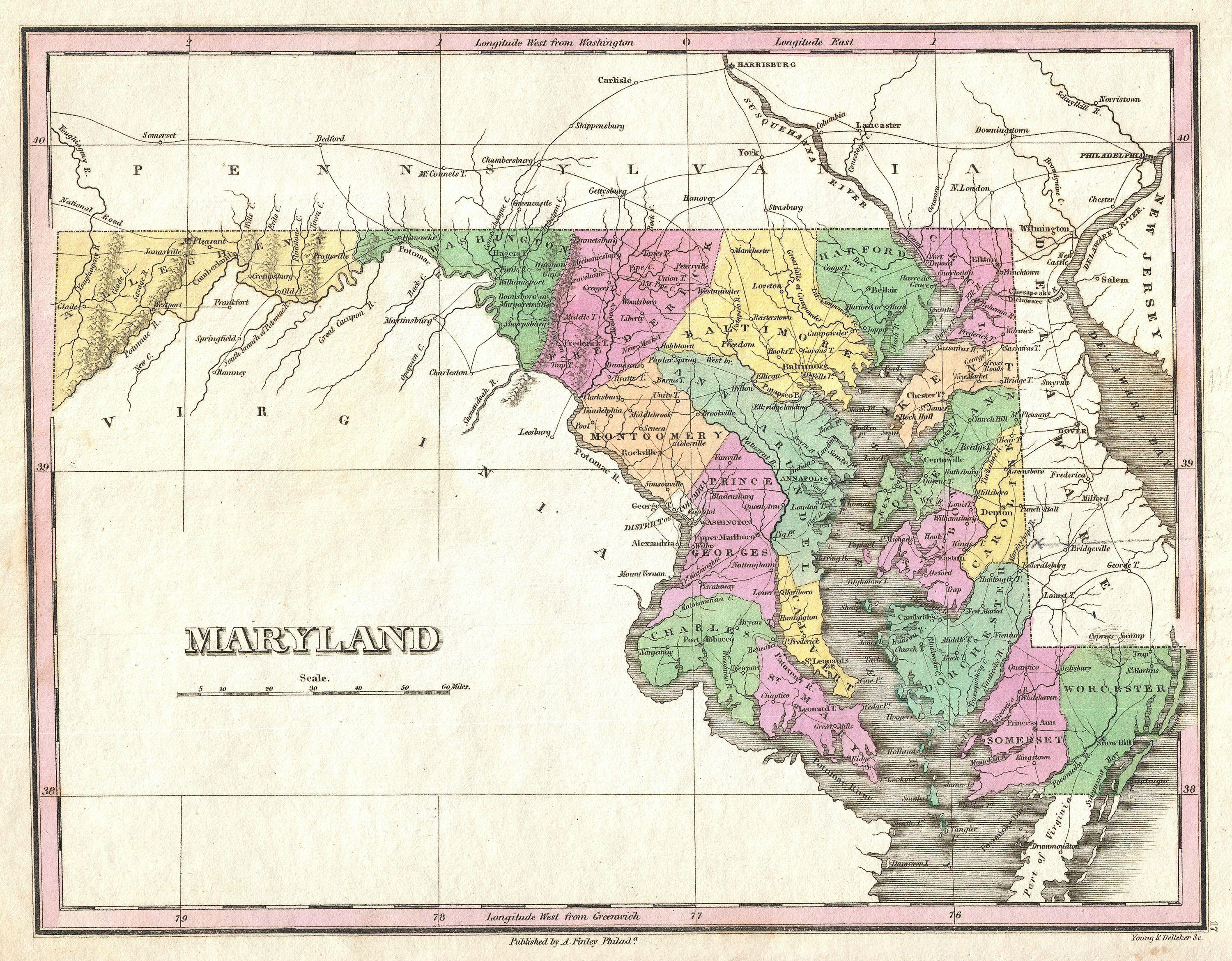 File Finley Map Of Maryland