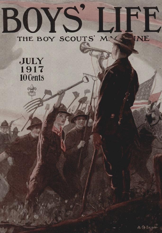 Boys' Life, July 1917