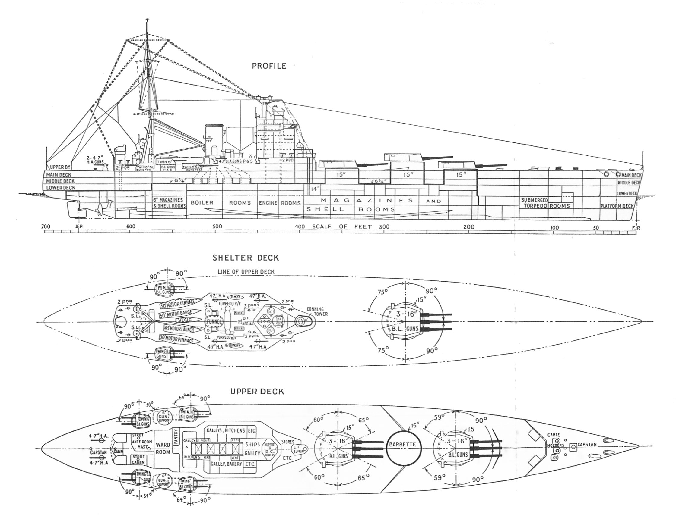 Alternate Nelson Class Battleships