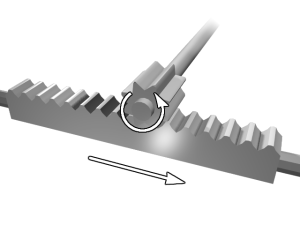 What in the World is: Rack and Pinion Steering illustration