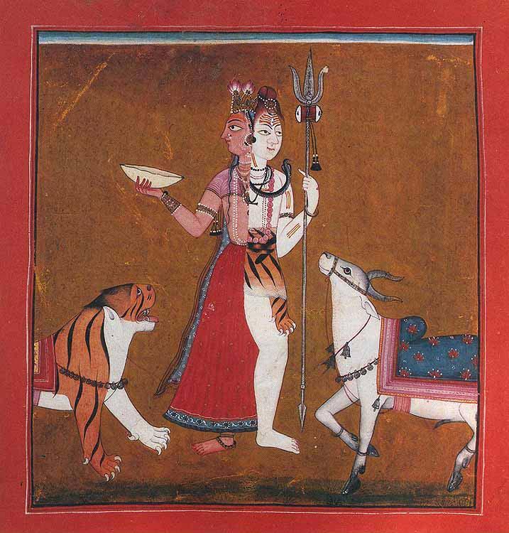 Shakti and Shiva as Ardhnarishwar/Ardhanari