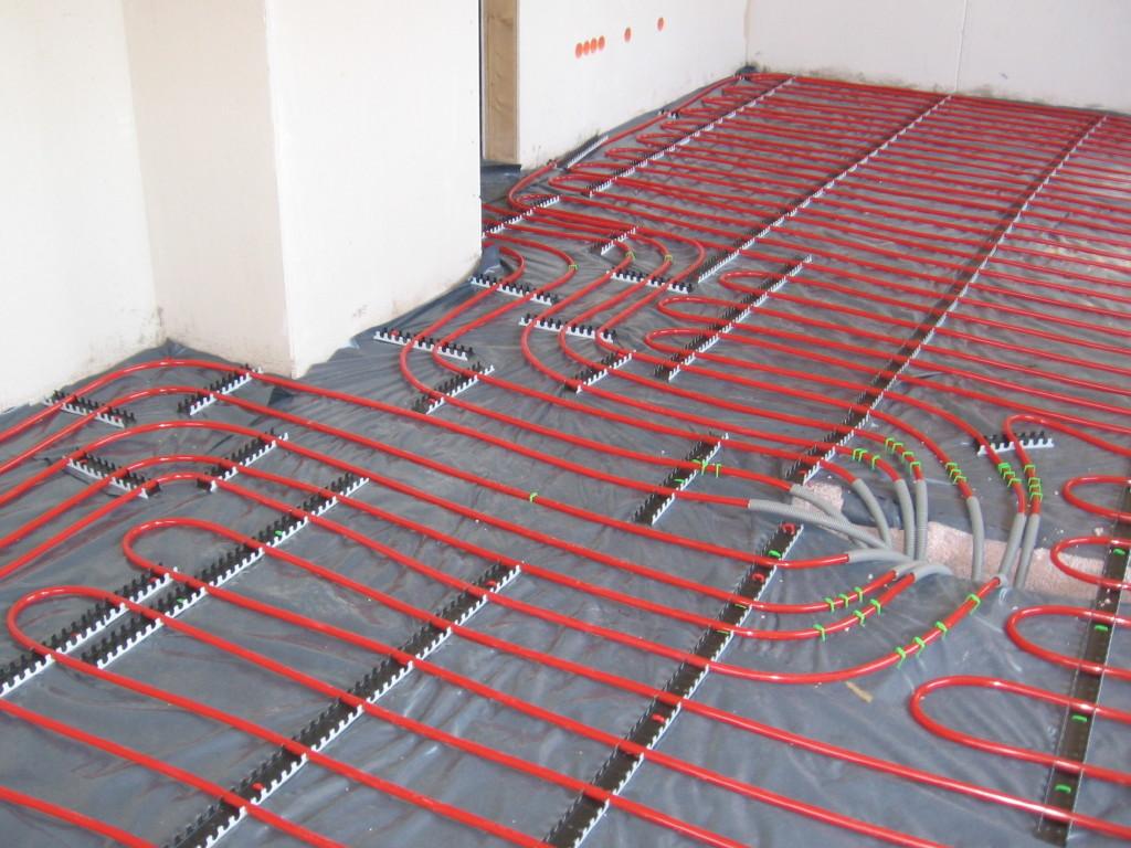 Hydronic Radiant Floor