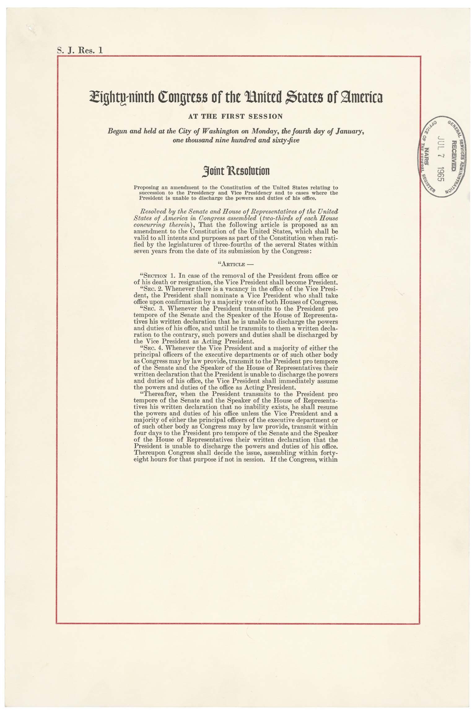 File 25th Amendment Pg1of2 Ac