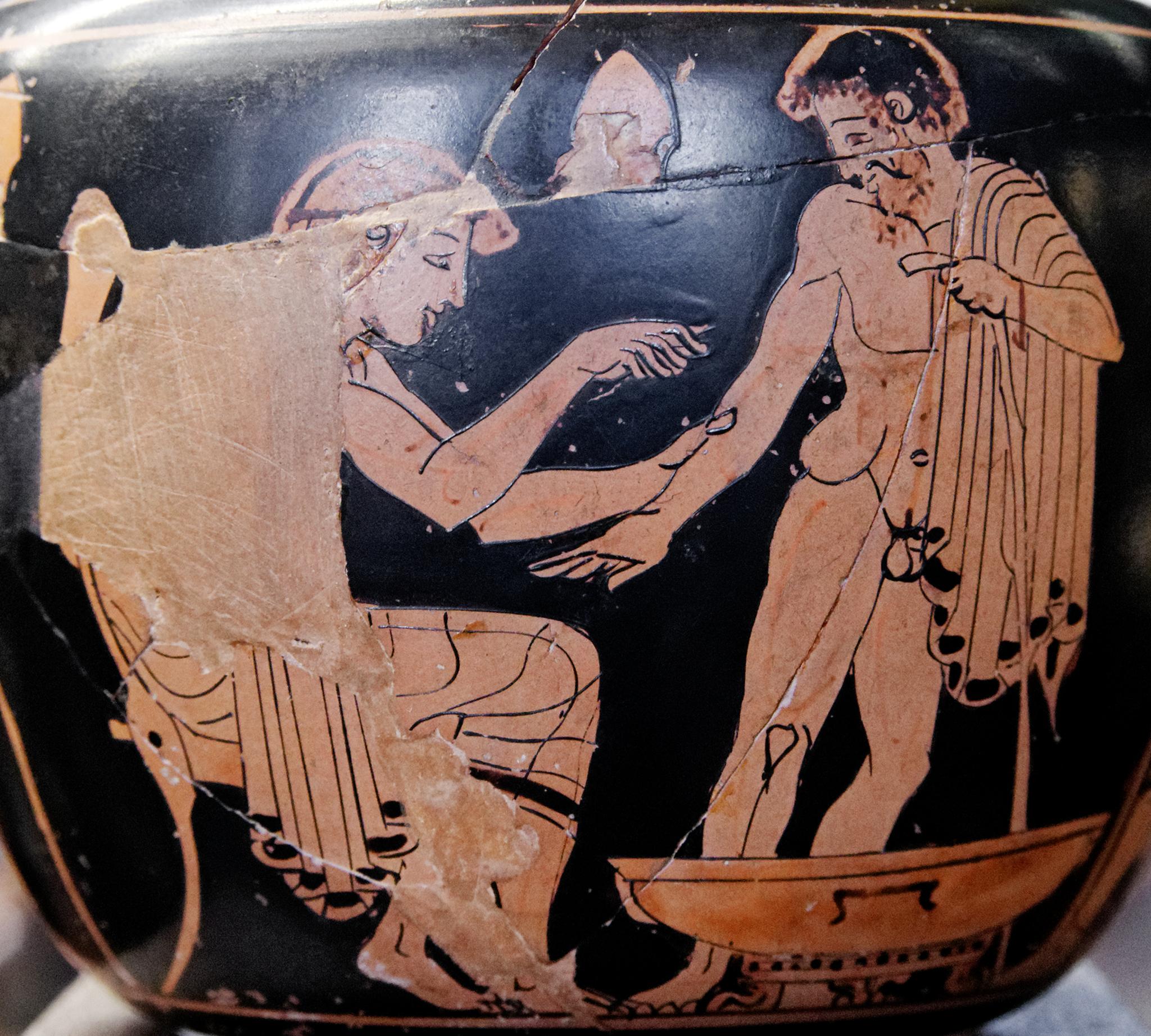 Image result for Ancient Greek doctor vase