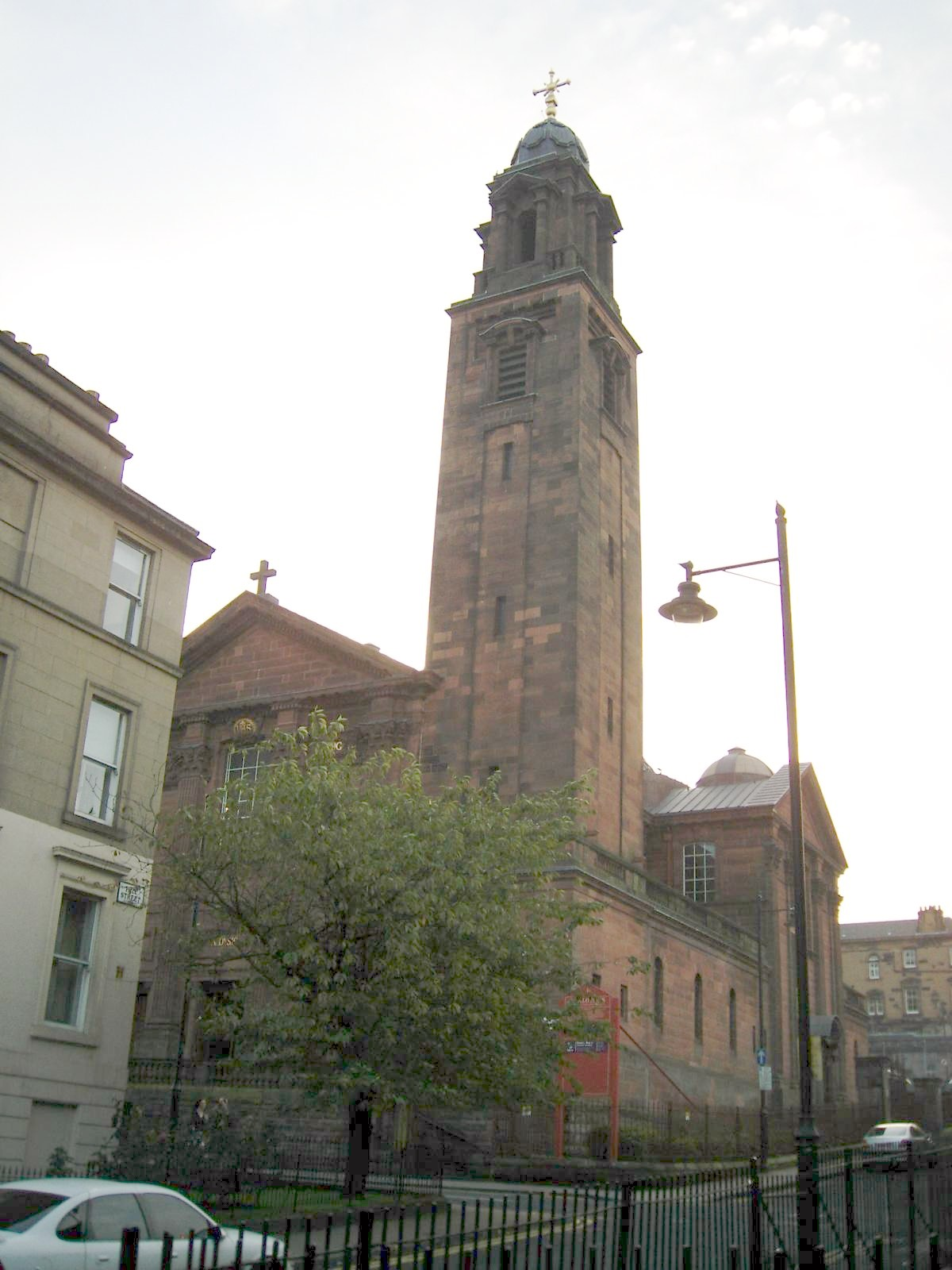 St Aloysius Church Glasgow Wikipedia