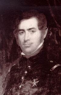 Caption: Ben Milam, Courtesy Texas State Library and Archives Commission.  https://www.tsl.texas.gov/treasures/republic/bexar/bexar.html