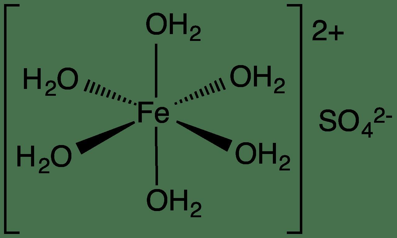 Iron Ii Sulfate