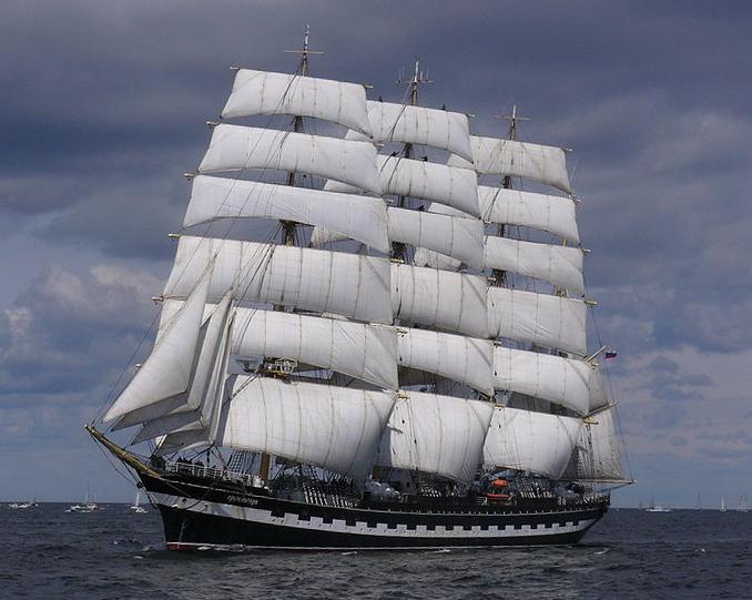 Kruzenshtern armada rouen