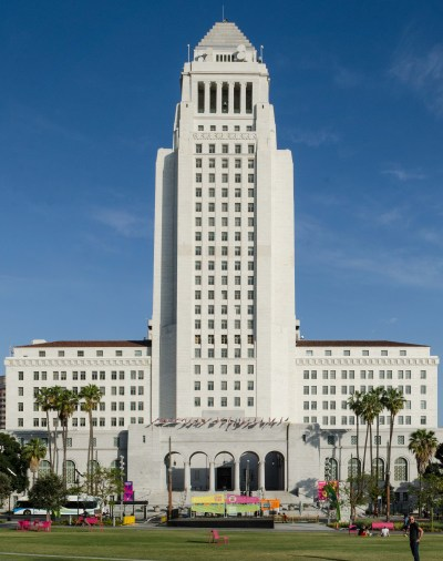 Image result for la city hall