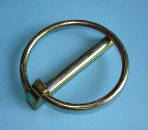 English: Lynch pin (20th century example)