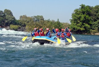 River Rafting in India, and its destinations.