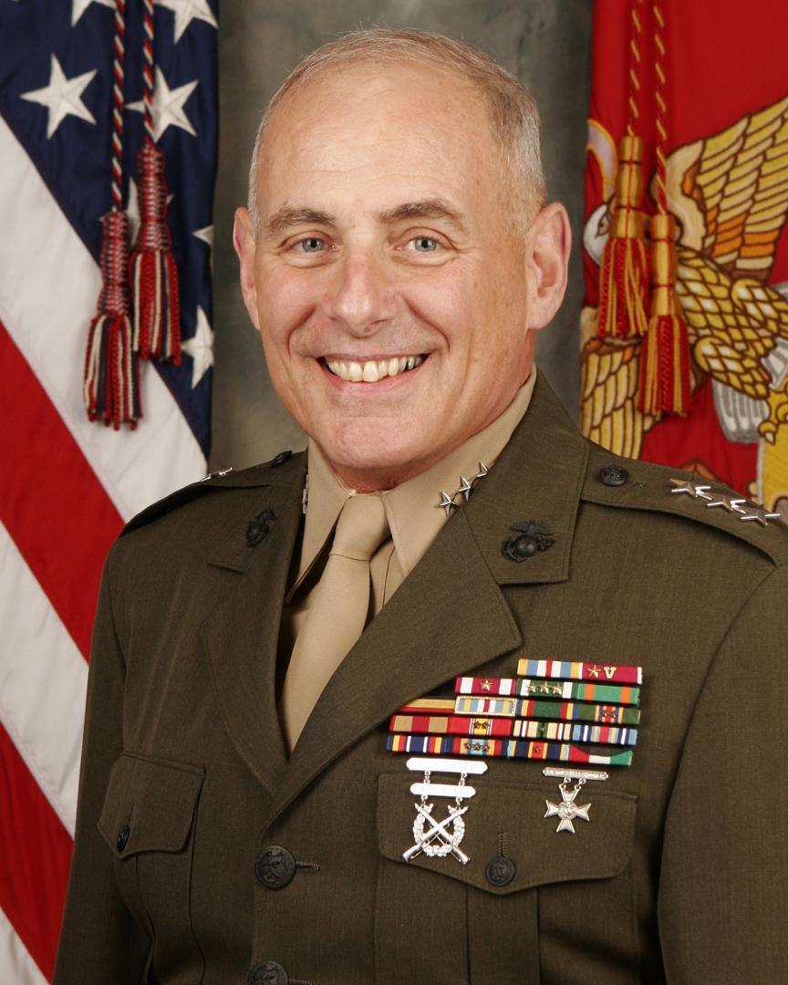 English: Photo of LtGen John F. Kelly