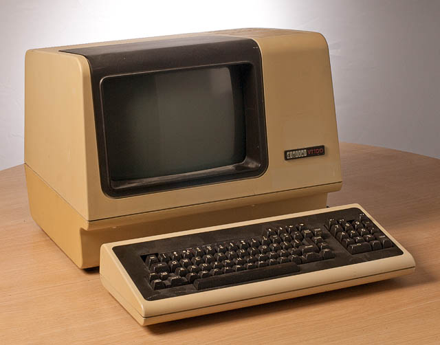 VT100 physical terminal