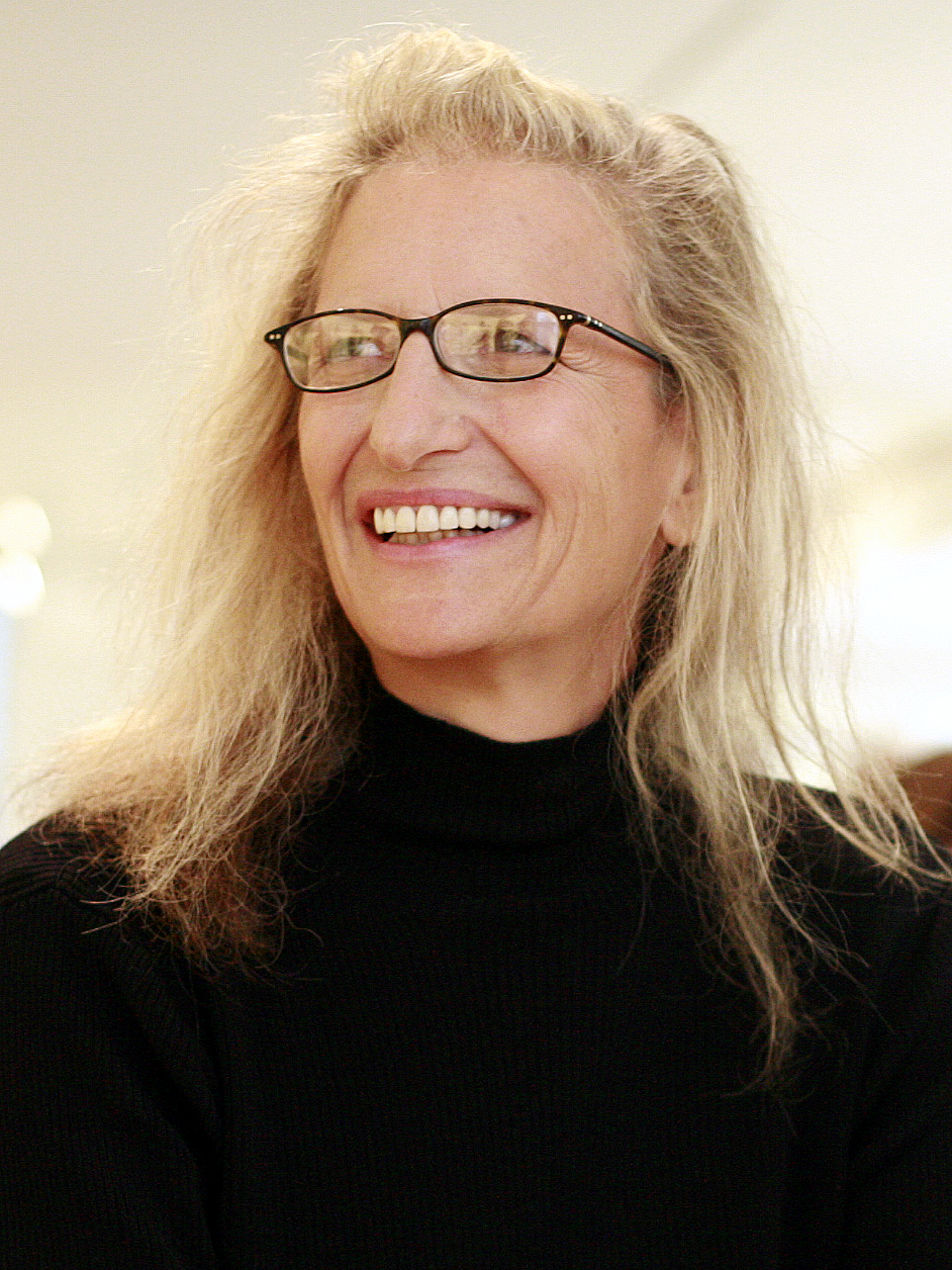 Portrait of [photographer Annie Leibovitz