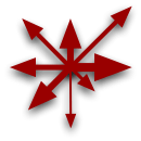 Symbol of Chaos – asymmetrical variant