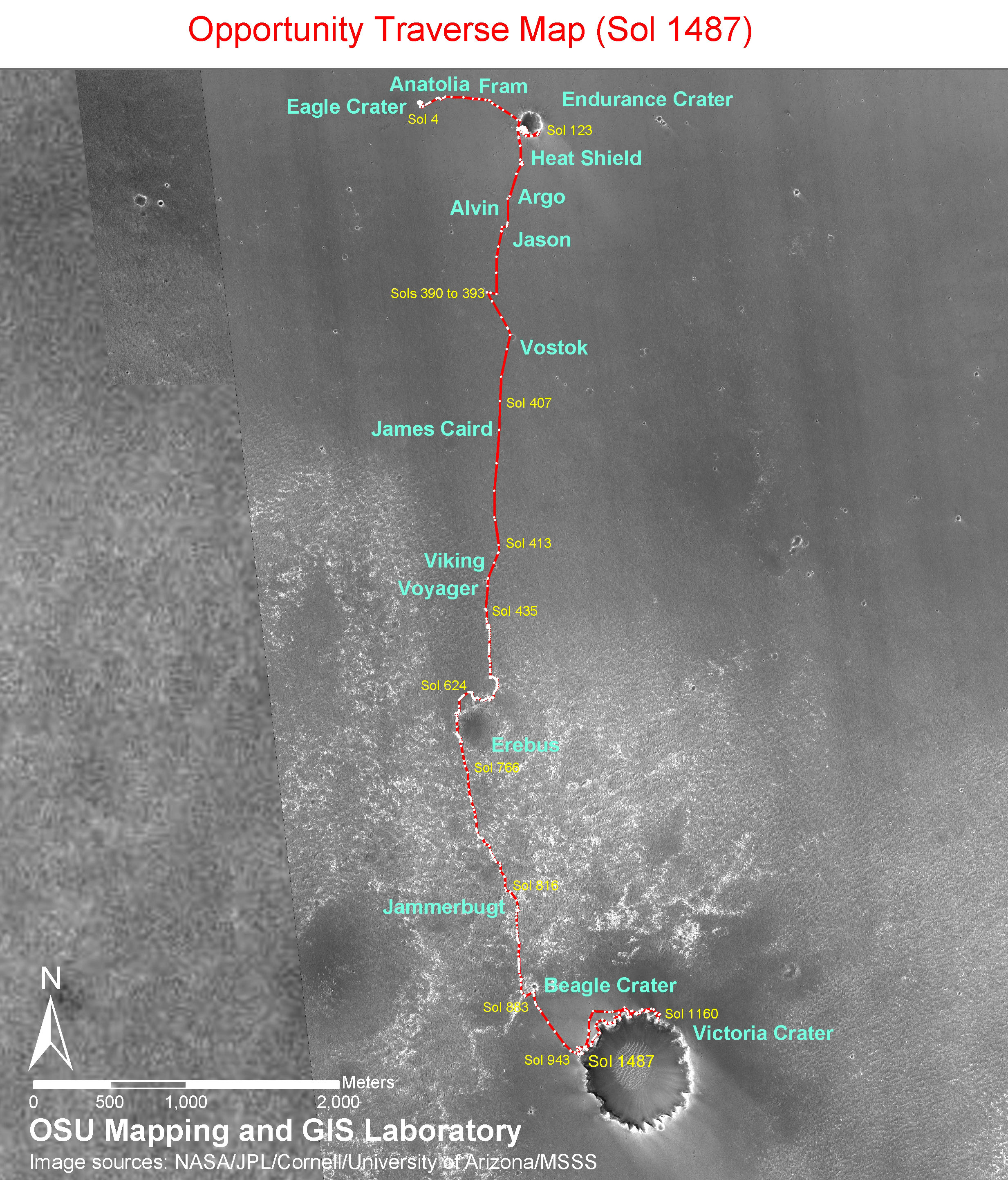 File Opportunity rover traverse map sol 1487 Wikimedia mons