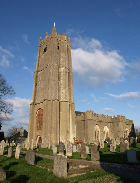 St Andrew's church, Ipplepen.