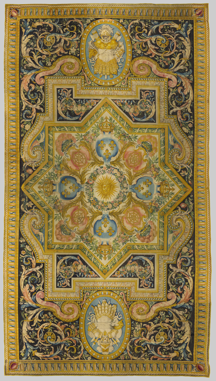 file tapis de la savonnerie aux armes de france et de navarre bgw20 0207 jpg wikimedia commons
