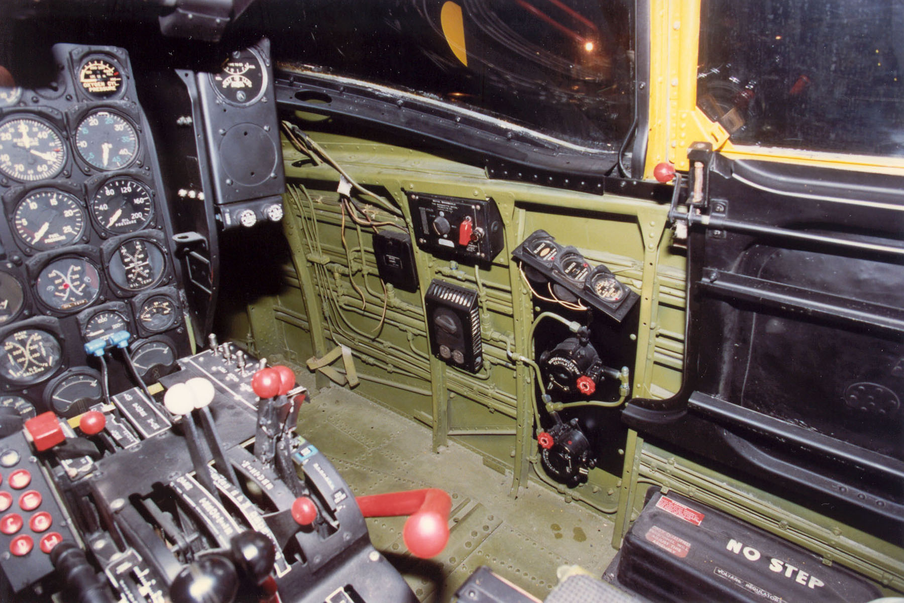 File Douglas B 26c A 26c Cockpit Usaf