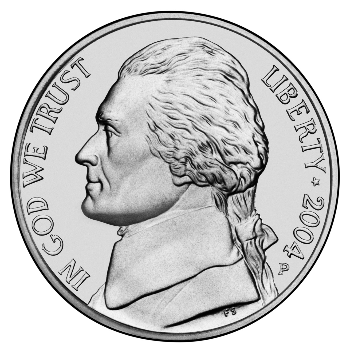 5 Cents Jefferson Nickel 1st Portrait