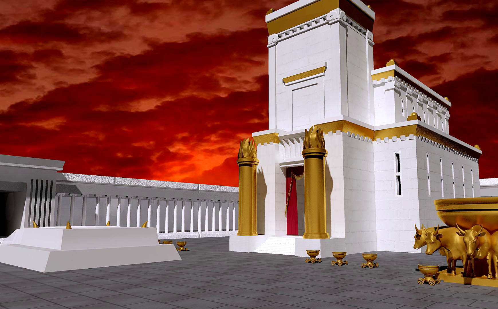 Third Jewish Temple in Jerusalem