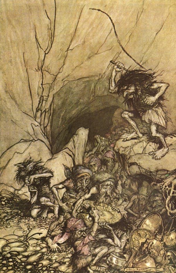 Arthur Rackham: Alberich