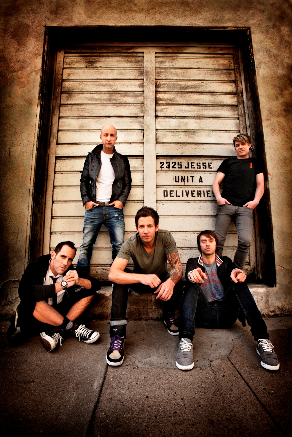 Simple Plan Chapman Baehler promotion poster