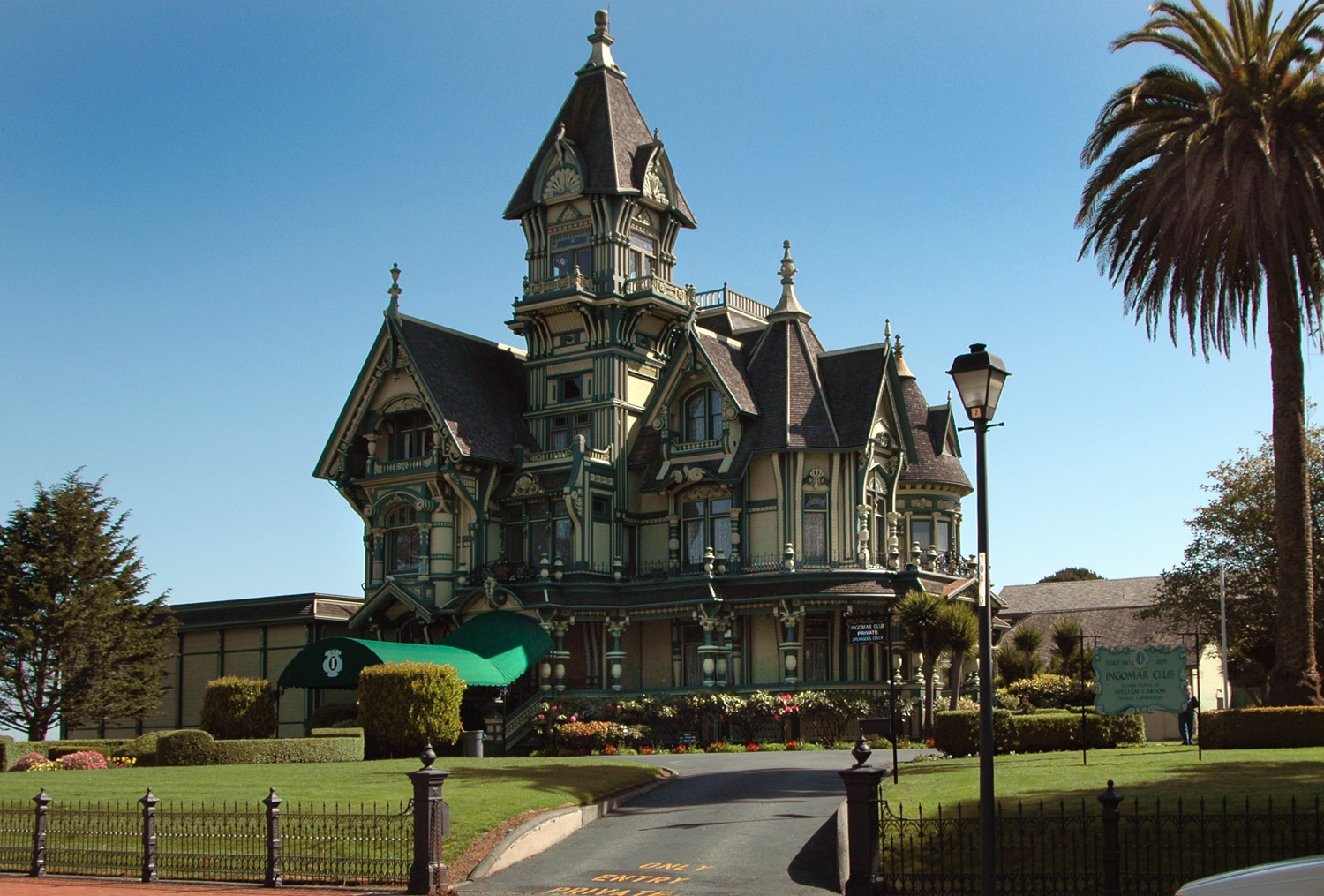 This is an image of the Carson Mansion.