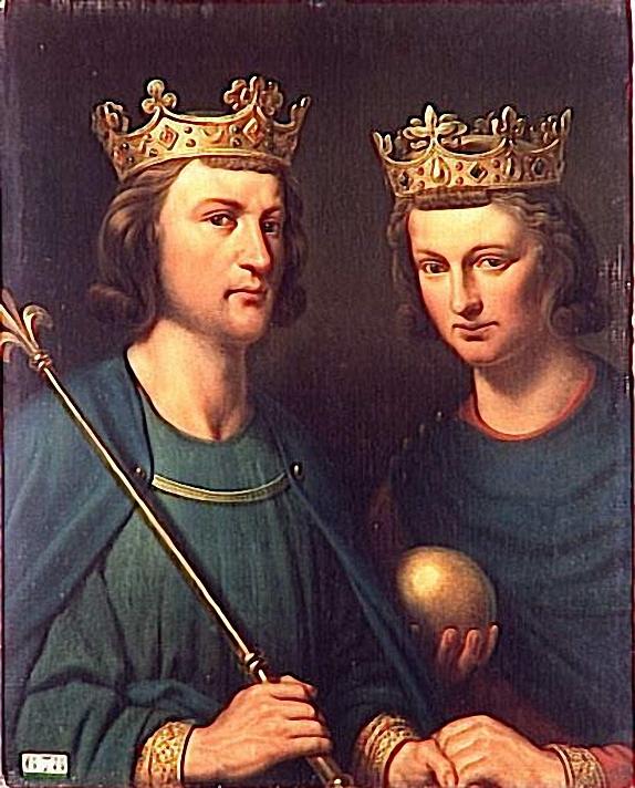 File:Charles Auguste Guillaume Henri François Louis de Steuben - Louis III (vers 863-882) et Carloman (vers 866-884).jpg
