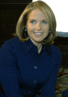 Katie Couric (with Fred Thompson)