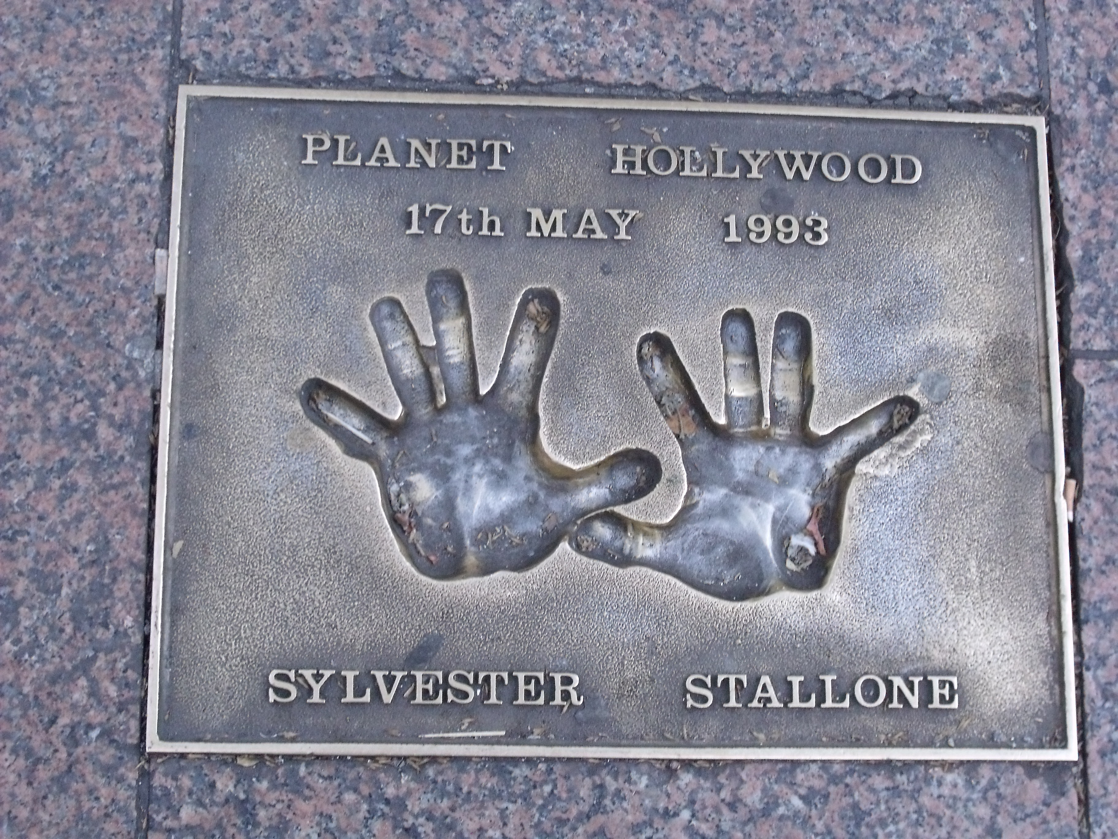 FileHand Prints In Leicester Square London Sylvester