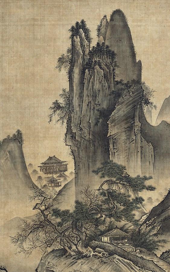 Landscape of the Four Seasons (Spring) by Sesshu.jpg