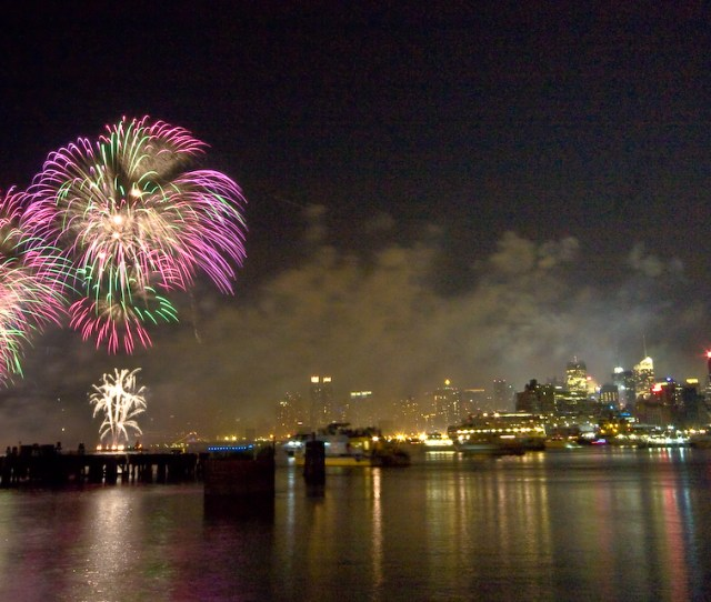 Filemacys Independence Day Fireworks From Hoboken New York