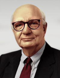 Paul Volcker, former head of the Federal Reser...