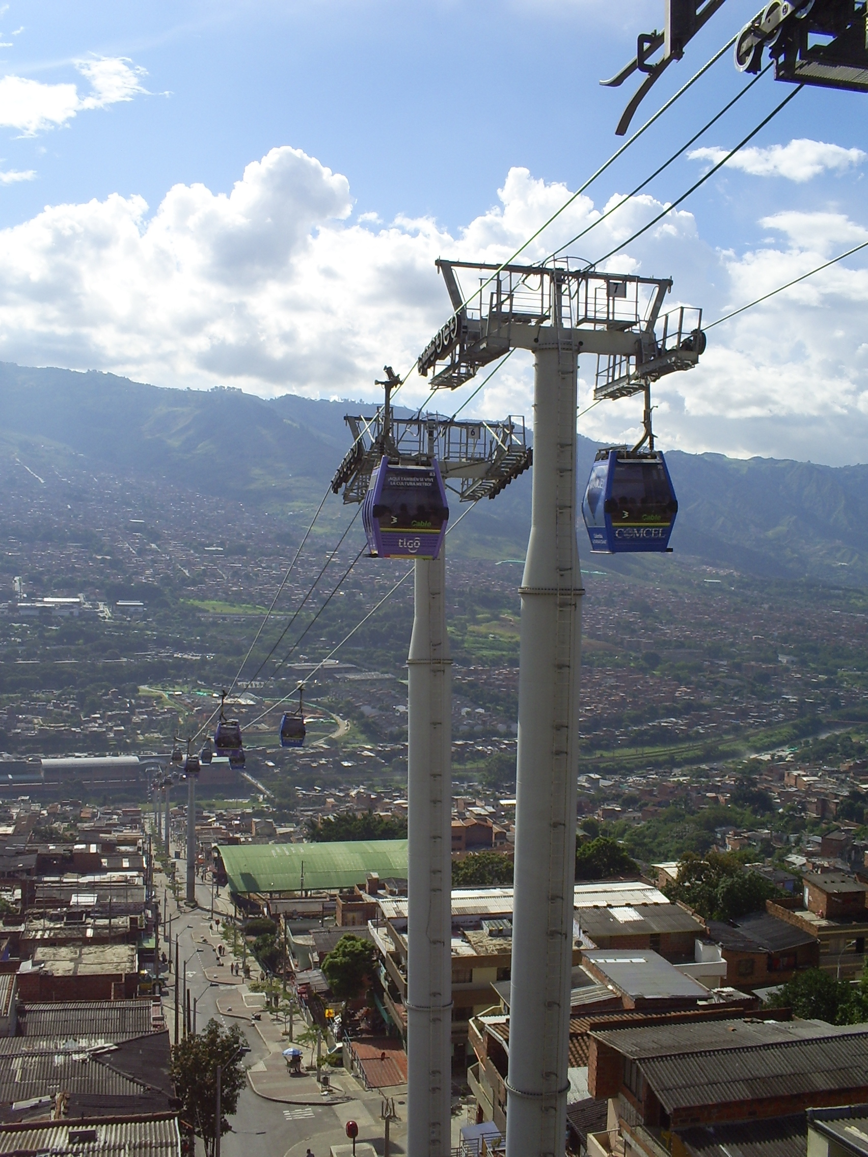 The Medellin MetroCable