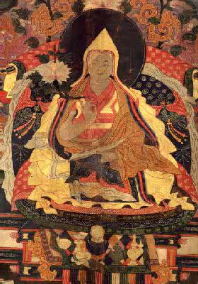 English: The Seventh Dalai Lama, Tsangyang Gyatso