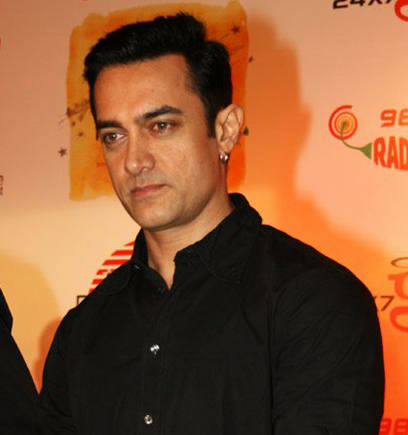 Indian actor Aamir Khan