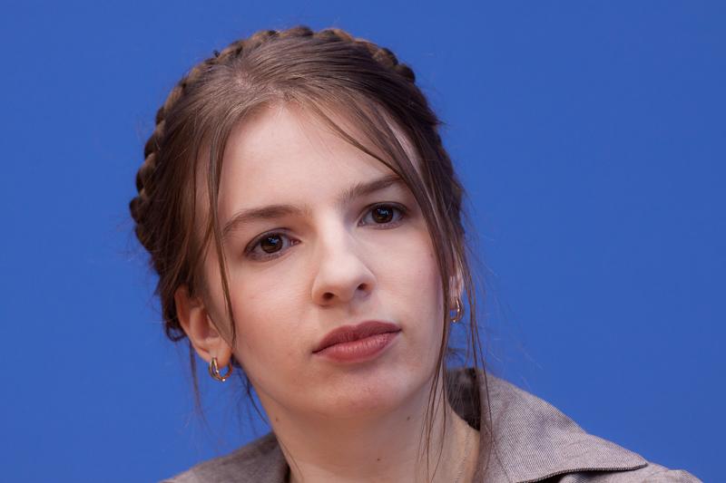 Die Jüdin aus Kiew Marina Weisband (Ukraine) - Geschäftsführerin der Piratenpartei in Deutschland