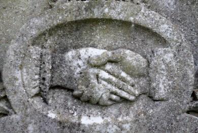 mormon and masonic clasped hands