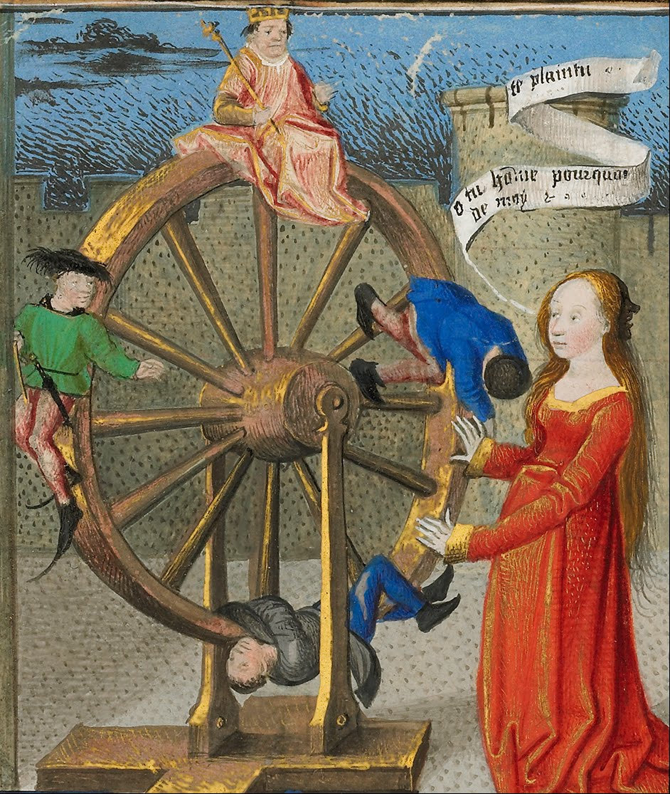 Image result for wheel of fortune boethius