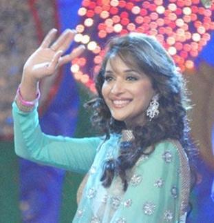 English: Indian actress Madhuri Dixit