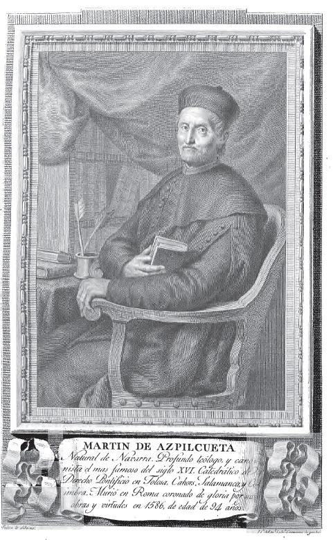 Retrato de Martín de Azpilcueta