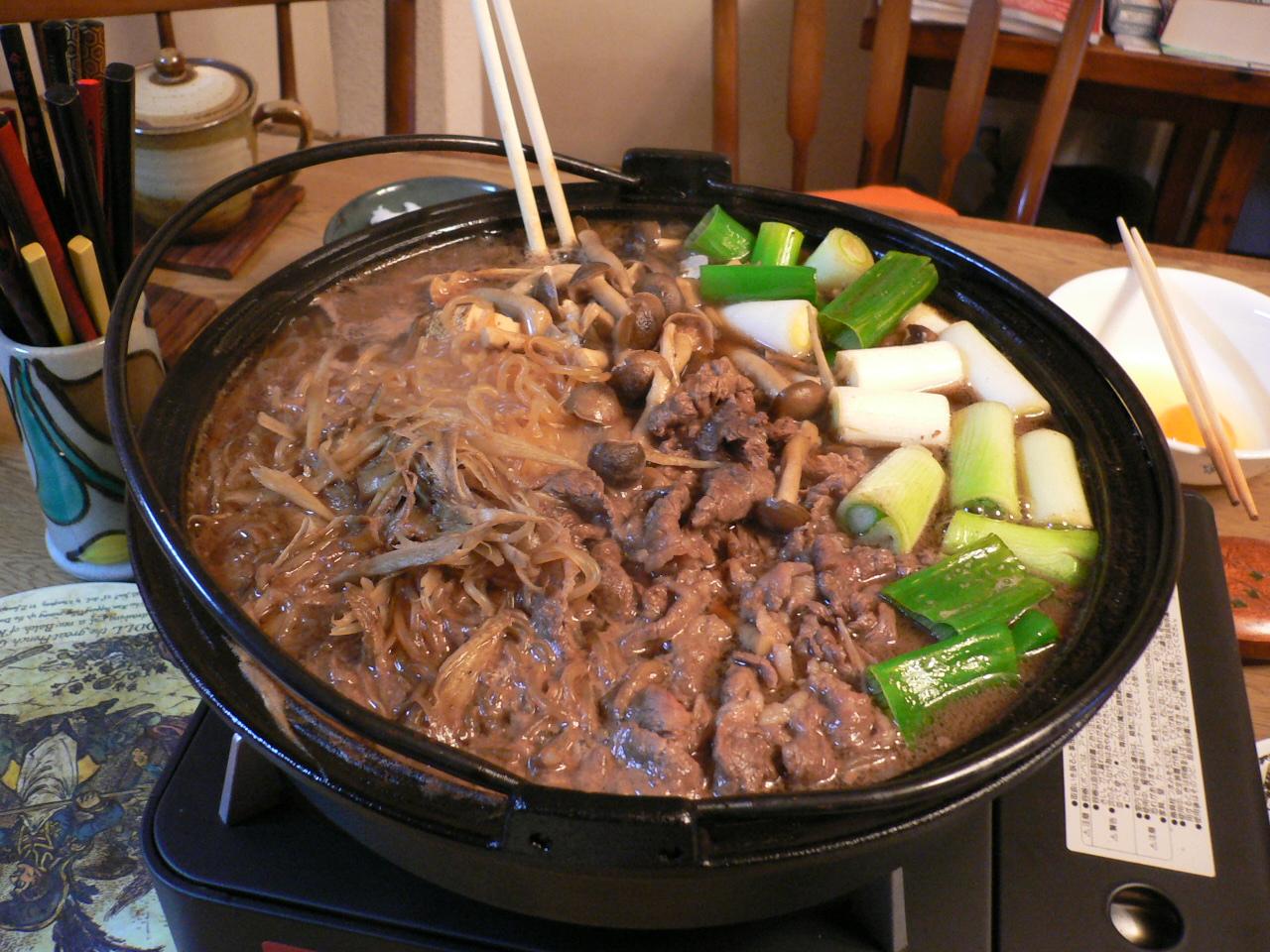 Sukiyaki, although not mine.