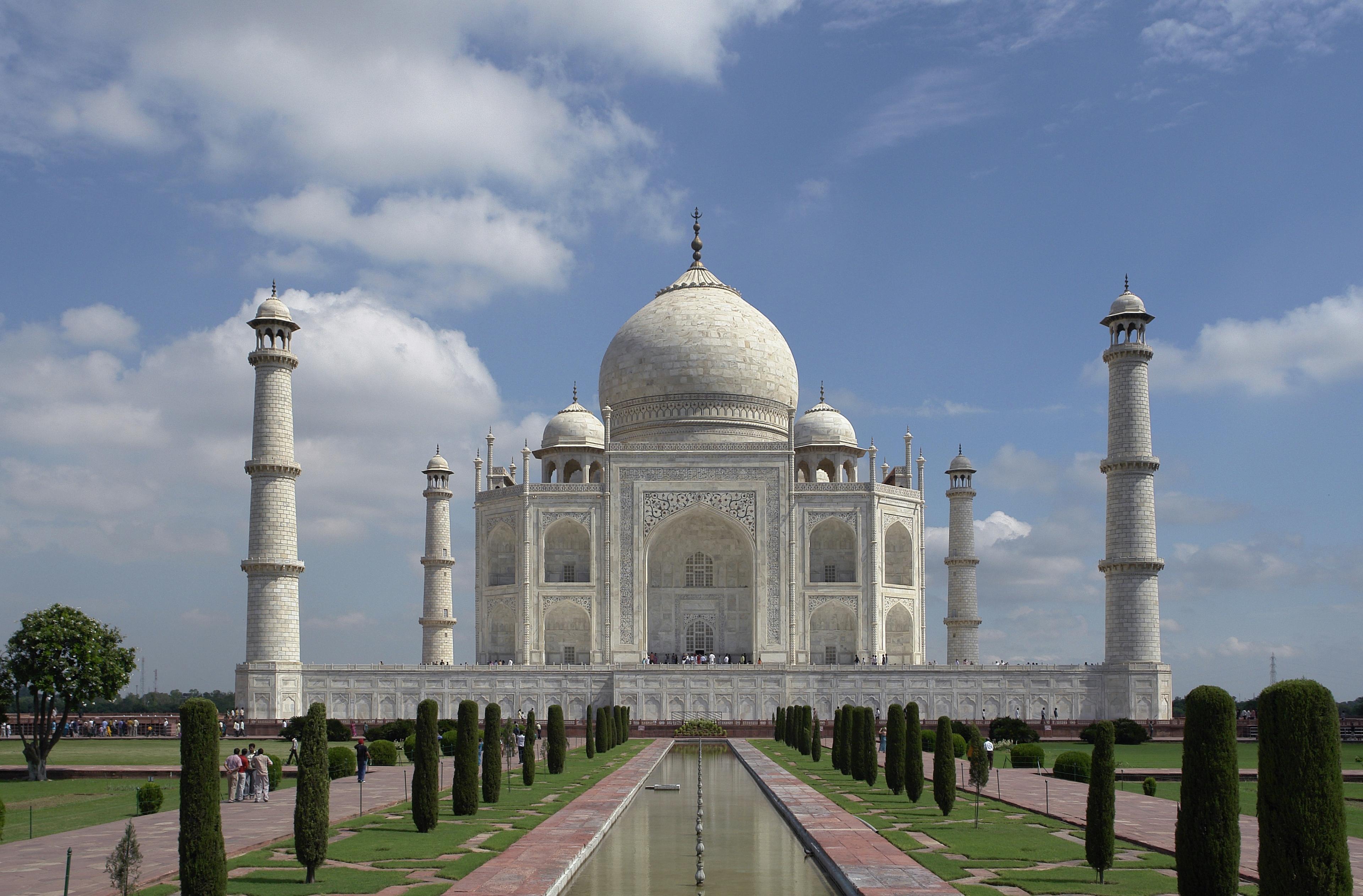 Taj Mahal, Agra, India. Français : Taj Mahal, ...